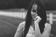 Sarai G. - 05 (G. Goitia) Tags: portraiture portrait retrato mirada look actitud ritratto black white blanco negro blackandwhite blancoynegro bw bn monocromo monochrome monocromtico enfoque desenfoque foco focus dep depthoffield pdc profundidaddecampo model modelo modella sesin book reportaje fashion moda sincolor sinflash gente airelibre luz light lighting iluminacinnatural luznatural luzambiental encuadre framing canon photo photography fotografa foto canoneos5def85mmf18usm canoneos5d ef85mmf18usm 85mm f28 850mm