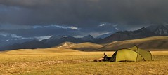 Camp in the Alay Valley