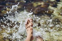 F a v i g n a n a (Little wanderer) Tags: d610 50f14 summer favignana bokeh water sea splashes