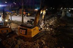 Finning Lawson Demolition Swindon pedestrian bridge takedown (finningnews) Tags: demolition lawson group bridge takedown swindonunited kingdomdemolition swindon excavator work tool