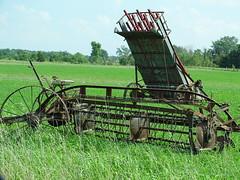 Old Tyme Farm Machines (Lana Pahl / Country Star Images) Tags: countrysideimages amishcountry forgottenohio ohioamish ruraldecayohio countrysidephotography