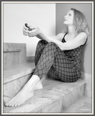 Jess colour & bw 2016 (mrjean.eu) Tags: jess colour bw 2016 lady wife mature girl candid classy pants legs feet woman women french model modle gorgeous blond actrice fashion elegant studio sexy business suit skirt lovely smart pretty cute nice seductive ingenuous