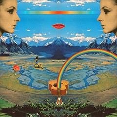 Rainbow, mountain, sounds (Mariano Peccinetti Collage Art) Tags: collagealinfinito cutandpaste globular collage surreal collageartist peccinetti marianopeccinetti dream meditation retro arte psych art psychedelic flowers vintage vintageart trippy 70s 60s lsd dmt surrealist surrealism space fullmoon moon cosmic camp saturn rainbow yoga desert lovers world love stars sun planets