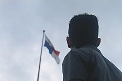 Panama (DannyGuardia) Tags: boy freedom landscape panama style beautiful paradise indie smile alternative grunge clouds sky man tumblr happiness faceless rain nature flag america danny guardia kiss