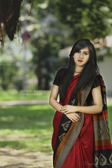 Farha (Safaria Suhas) Tags: outdoor green bangladesh people portrait cute red redbeauty outroor daylight