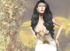 Glam Dreams - Alfonsina Gown (Rehana MiSS SLVietnam, Face of CHOP ZUEY 2015) Tags: secondlife rehana fashion rehanaseljan groupgift glamdreams laboheme chopzuey slink littlebones posesion