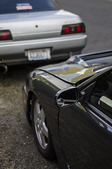 nissans (Michael Dees) Tags: cars nissan r32 bmw s13 s14 e30 euro jdm imports dirt nasty low