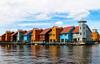 Groningen (anneinoue) Tags: nederland holanda reitdiep groningen porto