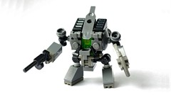 GHF Doompa (Deltassius) Tags: global harmony lego mech mecha robot frame mfz mf0 space scifi war military
