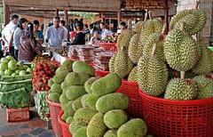durian and jackfruit season (hoangcongminh71) Tags: durian jackfruit fruitdejacque suring mit durion vietnam saigontourist