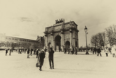 Place du Carrousel (DHaug) Tags: placeducarousel paris december 2014 xt1 fujifilm aged arch napoleon corinthian architecture xf1024mmf4rois
