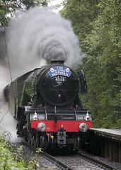 The Flying Scotsman (kevinwolves) Tags: theflyingscotsman train steam steamtrain svr severnvalleyrailway kevinwolves nikon nikond300 nikkor55200mm railway