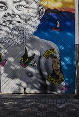 Arr un viejo marinero (fermin.esparza) Tags: grafitti laredo marinero