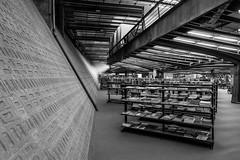 Library (Guilherme Nicholas) Tags: arquitetura ccsp library bookshelve books blackandwhite bw monochrome street