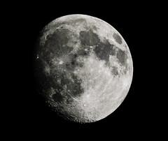 Moon Sept. 13 2016 (snooker2009) Tags: moon lunar sky detail