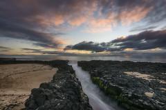 Cut (Crouchy69) Tags: sunset dusk landscape seascape ocean sea water coast basalt rocks clouds sky lighthouse beach bunbury western australia