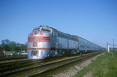 CB&Q E9 9989A (Chuck Zeiler) Tags: cbq e9 9989a burlington railroad emd locomotive naperville dinky train chz