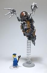 LEGO Mech Daphnia pulex-06 (ToyForce 120) Tags: lego robot robots mecha mech mechanic legomech legomoc animal