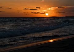The power of the ocean (JanetR3) Tags: ocean sunset sea beach waves power week weeks 35 52 2012