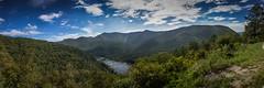 The Blue Ridge Mountains of Virginia (Mariposaland Photos) Tags: mountains nationalpark panoramic appalachia blueridgeparkway blueridge jamesriver
