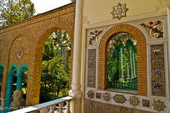 Moghadam museum (mahsa saffaripour) Tags: house building tree art home museum architecture tile asia university iran muslim decoration mosaics east architect tiles tehran middle muslem moslem moghadam mozayik