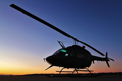 Sleeping Hunter (dkuttel) Tags: summer canon portland army eos bell helicopter pdx yakima helo bellhelicopter kiowa 70200f28 kpdx oh58 druginterdiction