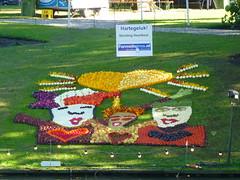 Heart Happiness (Stefan Peerboom) Tags: mosaic mosaics 2012 mozaïk fruitcorso mazaïken