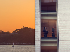 what a view! (courtody) Tags: park nyc newyorkcity sunset orange newyork window hotel boat diptych sundown dusk westvillage september hudsonriver westside 365 meatpackingdistrict oneyear thestandard 2012 366 thehighline 3651 365project 3651project 366project 5dmarkiii courtneytight