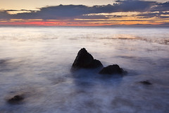 Little Mountains (Shawn S. Park) Tags: california longexposure sunset rock canon losangeles wave 5d shawn palosverdes 1635 ranchopalosverdes ef1635mmf28lii eos5dmarkii