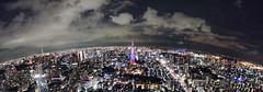 Night view of Tokyo from Roppongi Hills sky deck (orange_kuma) Tags: from sky night view hills deck roppongi