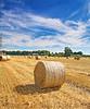 Hay Bales (Muzammil (Moz)) Tags: cheshire sthelens moz haybales goldenfields muzammilhussain