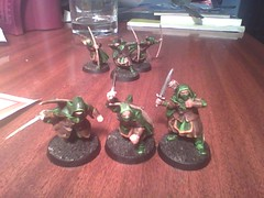 Rangers of the Middle-Earth (geekolas) Tags: space battle lord 40k rings warhammer warriors marines 40 000 wargames the immortals necrons of immortels