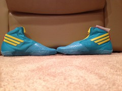 BNIBWT Adidas Teal Adizeros (Cwell113(973-464-2496)) Tags: red two sun black speed glasses shoes nebraska lace xbox 360 camo collection og sp freak e cutting olympic split fighting custom adidas gables 3s edition internationals oe wrestle gatorade gable freaks p1 p2 speeds kaos takedown freek legit 360s asic freeks pusuit p2s splitseconds goldenlaces kolats
