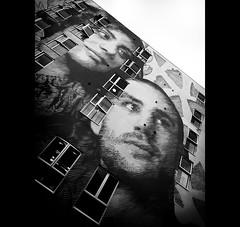 Hope (Mr sAg) Tags: blackandwhite streetart building art architecture birmingham mural faces homeless massive huge westmidlands sag brum homelessness simonharrison homelessshelter hopeforthefuture peterbarber urbancanvas mrsag anthonydonnelly thesnowhill ©simonharrison