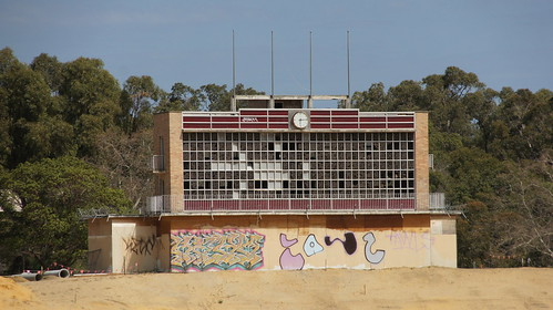 Remains of Perry Lakes Stadium