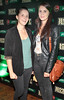 Louise McNamara and Ellie McNamara at the Jameson Launch Party for the Hot Press Yearbook 2012 at The Workman's Club,Dublin..Picture Brian McEvoy