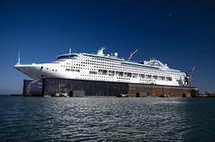 Sea P (LifeLover4) Tags: sanfrancisco cruise bay dock ship seagull boating drydock dogpatch circularpolarizer seaprincess 550d efs1755mmf28isusm t2i lifelover4 stickneydesign