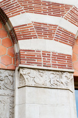 Architectural Details (USC | University of Southern California) Tags: door school usa building college window glass architecture buildings campus design losangeles university details columns arches philosophy clocktower hallway stained usc downtownla universityofsoutherncalifornia usccampus downtownlosangeles architecturaldetails fighton scuptures trojanpride muddhall muddhallofphilosophy