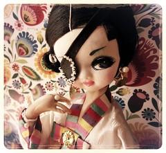 she's looking right at you! (Alrunia) Tags: eye vintage doll post korea korean bradley boudoir hanbok patch eyepatch