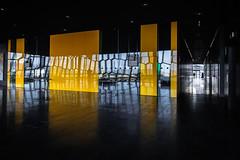 Corridor (palimpsest*) Tags: architecture iso200 iceland reykjavík harpa 1020mmf456 nikond300 focallength17mm 150secatf56