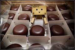 Day 43 . chocolate Mini (Only in RAW ) Tags: japan toys happy robot amazon box explorer mini days cardboard danny 365 danbo amazoncojp revoltech danboard minidanbo