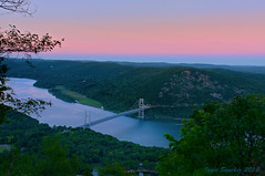 Up Top (10iggie) Tags: bridge sunset sky mountain newyork forest bearmountain orangecounty westchestercounty anthonysnosemountain