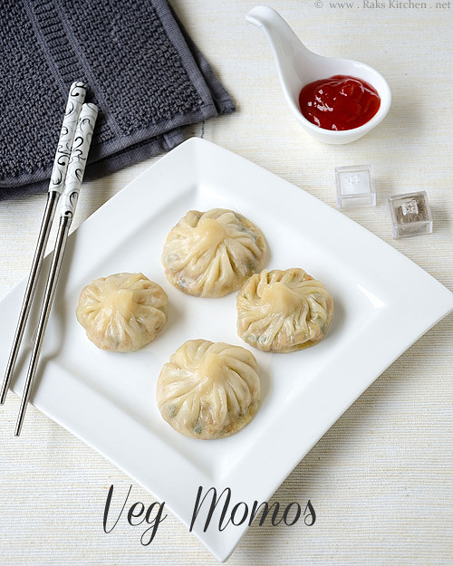 Veg momos recipe | Rak's Kitchen