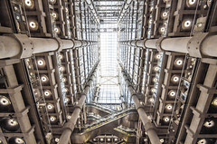 Lloyds of London (D A Scott) Tags: house building london architecture open angle wide lloyds 1022