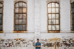 Derek (zacharyrose) Tags: bro music dhs fox catch for us foxes vineyard brighter brightest derek hoffman windows bricks de fries bears rust guy photo man boy arms crossed silly face record maker breaker hoff studios zach rose 5d 5d3 85mm whacky