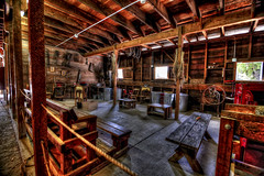 The Corn Room (eCHstigma) Tags: california wood nikon rooms places fremont tokina farms ultrawide hdr workshops d600 1116mmf28