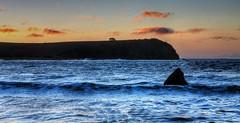 Coles Beach (HDR Edition) (Kuyan Redman) Tags: ocean blue sea white seascape black beach water rock clouds canon dark landscape landscapes seascapes australia tasmania hdr devonport 2012 coles redman kuyan 1100d