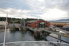 Leaving Bellingham port - Alaska Marine Highwa...