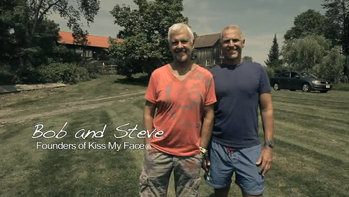 Bob Macleod and Steve Byckiewicz, founders of Kiss My Face