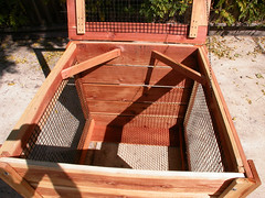 "1-Bin Redwood Compost Bin - interior • <a style=""font-size:0.8em;"" href=""https://www.flickr.com/photos/87478652@N08/8049155712/"" target=""_blank"">View on Flickr</a>"